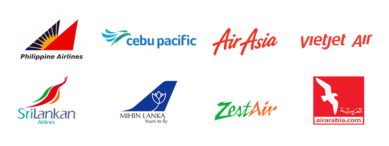 airline logos 800x300