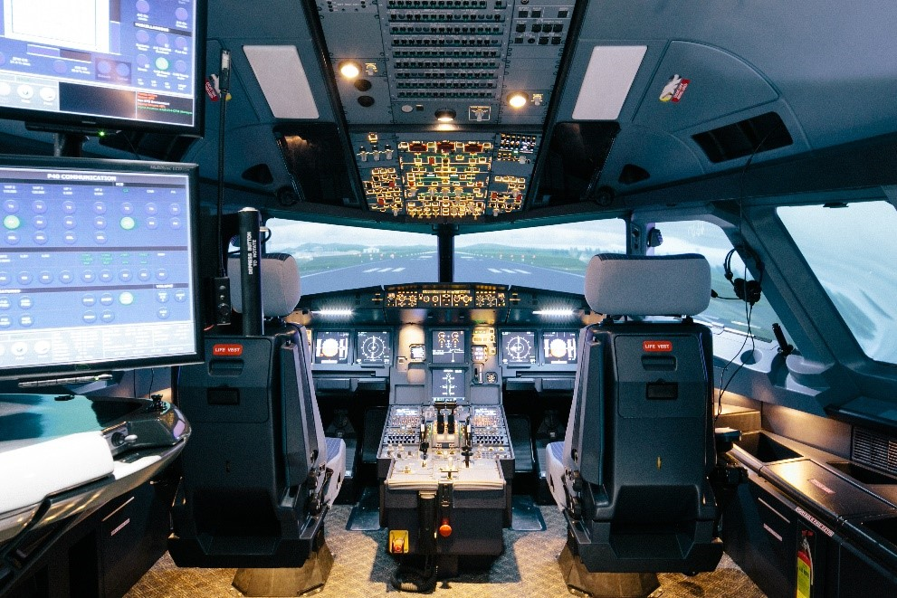 How AAG's Level D Airbus A320 Full Flight Simulator Delivers Top Quality Training
