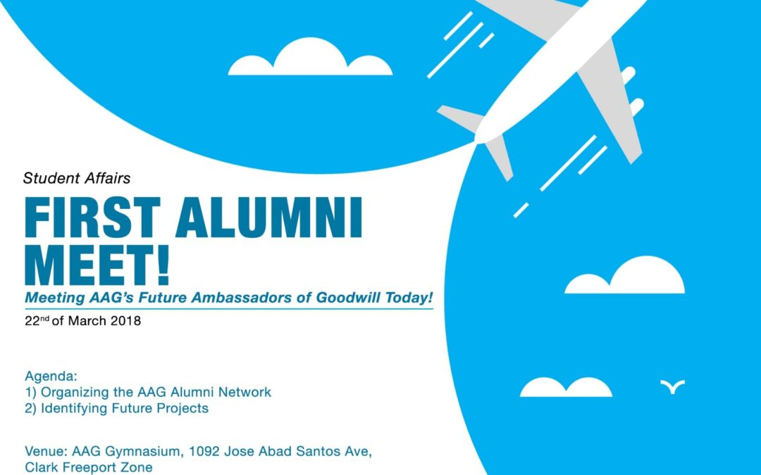 AAG's First Alumni Meet 2018