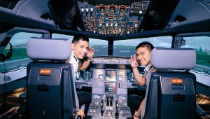 AAG, a top flight school, offers an A320 typerating for its Alpha Airline Pilot Program