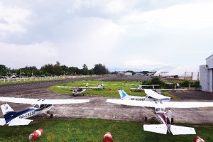 The Cessna 172 is a four-seater, single engine aircraft