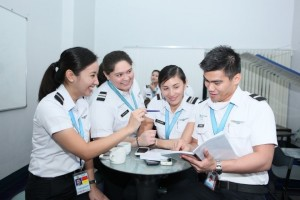 Proper pilot training includes personality development.