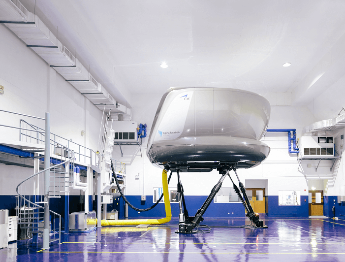 flight simulator training center